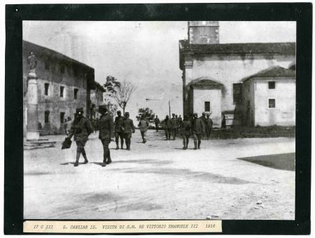 Visita di S.M. Re Vittorio Emanuele III