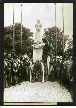 Inaugurazione del monumento all'Imperatrice