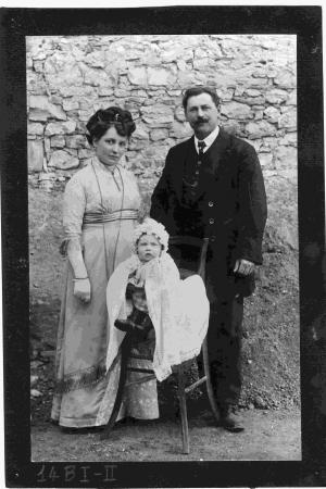 Anna, Antonio (Toni Fusar) e Mario Cosolo, proprietari del Vetturino