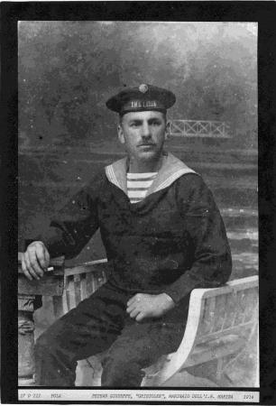 """Petean Giuseppe, """"Grisioler"""", marinaio dell'I.R. Marina"""