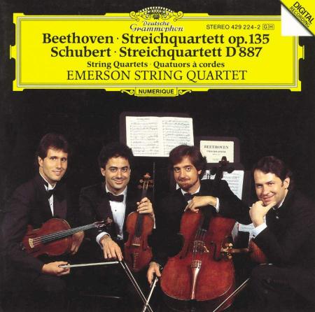 Streichquartett op. 135 - Beethoven. Streichquartett D 887 - Schubert