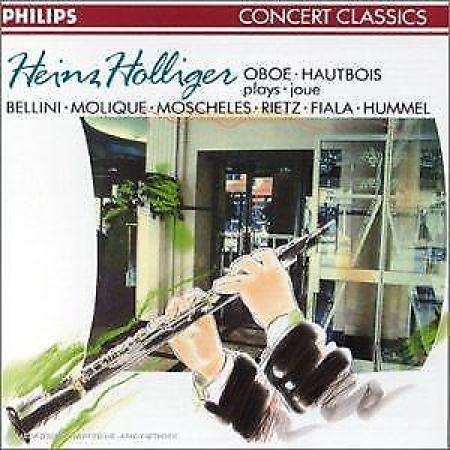 Heinz Holliger plays oboe