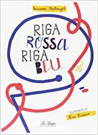 Riga rossa riga blu