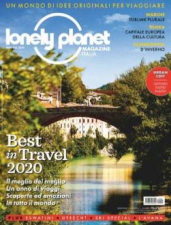 Lonely planet magazine Italia