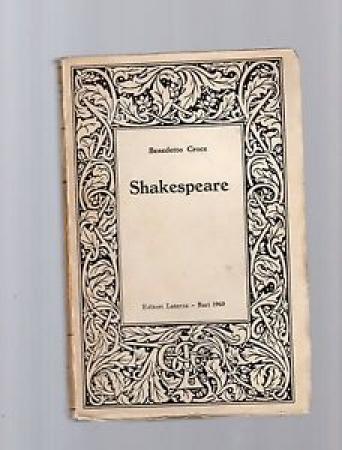 Shakespeare / Benedetto Croce
