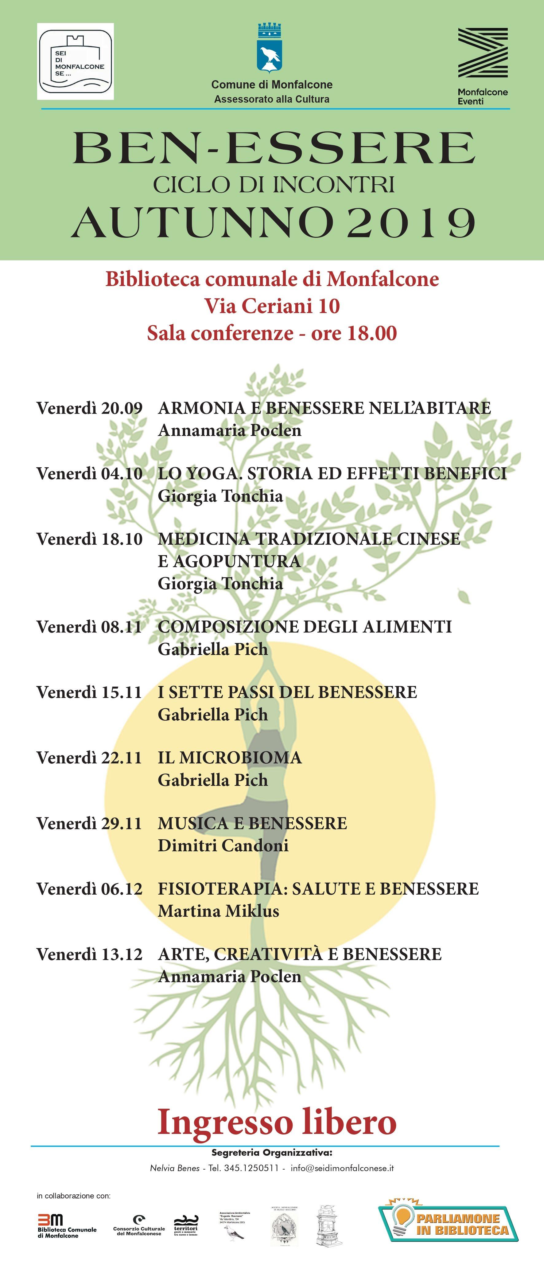 I Sette Passi Del Benessere Consorzio Culturale Del Monfalconese